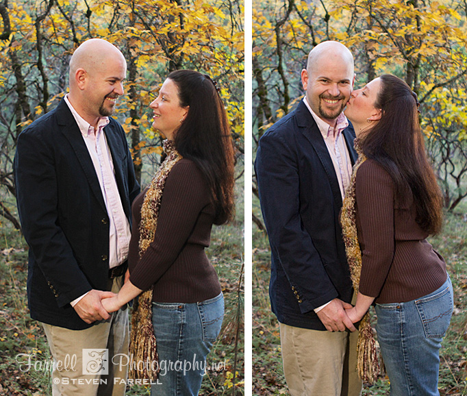 Farrell Photography portrait fall colors