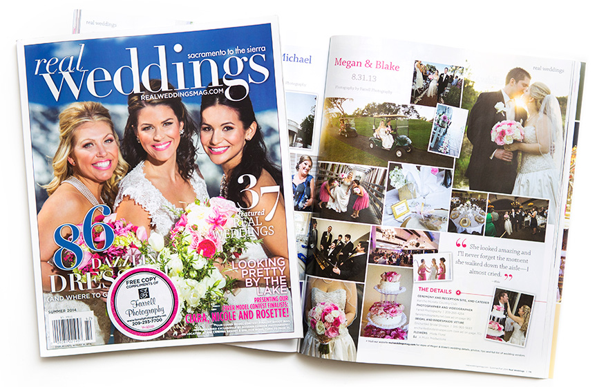 Real Weddings Magazine Features Rancho Mutietta Wedding By