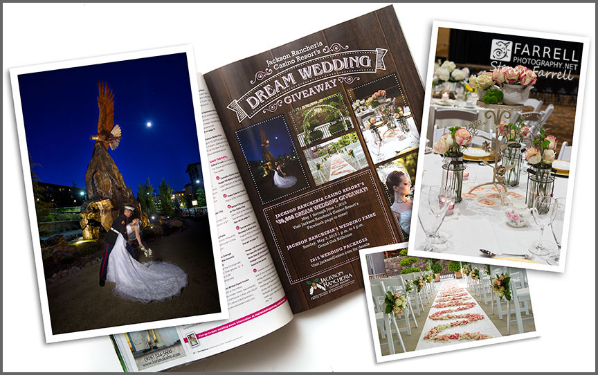 Real-Weddings-Magazine--Wedding-Photos-by-Farrell-Photography-in-Amador-County-with-Frame