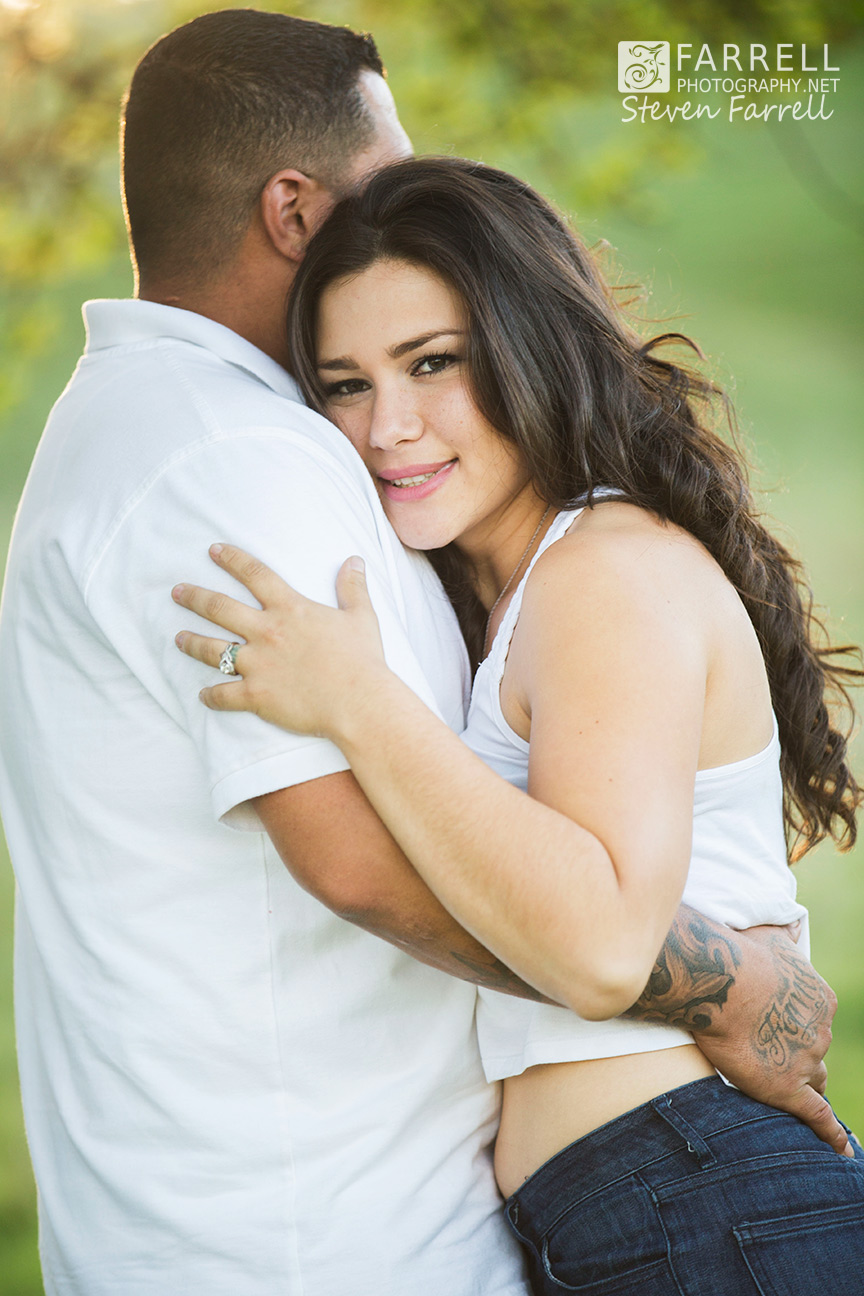 Engagement Session With Carissa And Frank In Amador County