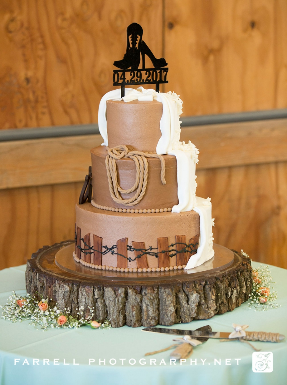 Cowboy Wedding At Mcfarland Ranch In Galt Farrell