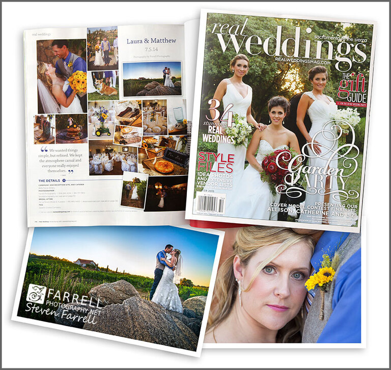 Real-Weddings-Magazine-Blog-of-Bella-Piazza-Winery-Wedding-by-Farrell-Photography-in-Amador-County-with-frame