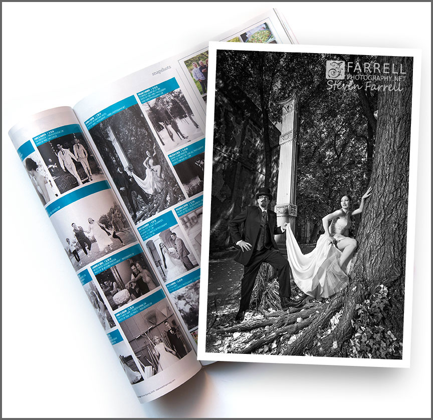 Real-Weddings-Magazine--Wedding-Photos-by-Farrell-Photography-in-Sacramento-with-frame