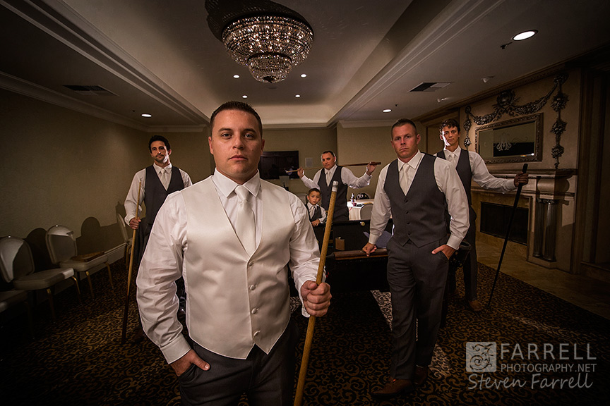 Arden-Hills-Wedding-by-Farrell-Photography-Sacramento-Wedding-Photographers-Groomsmen-Pool-Table--2015-IMG_0703
